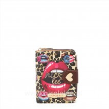 WILD LIPS SMALL WALLET