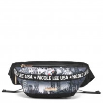 LIFE IN NEW YORK NYLON FANNY PACK