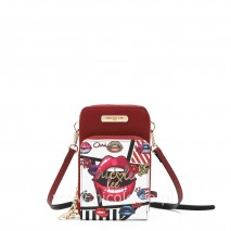 SUGAR LIPS TOUCH SCREEN CELL PHONE CROSSBODY