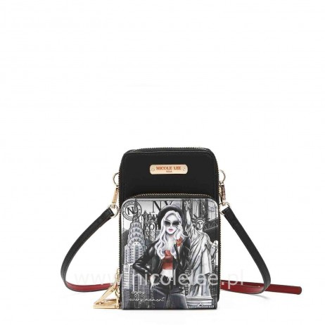 LIFE IN NEW YORK TOUCH SCREEN CELL PHONE CROSSBODY