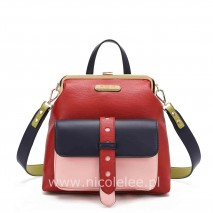 MODERN FRAME BACKPACK RED