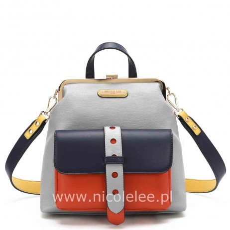 MODERN FRAME BACKPACK GRAY