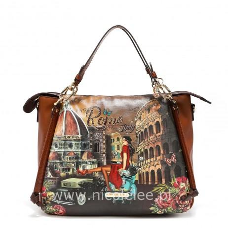 MEMORY OF ROME SATCHEL BAG