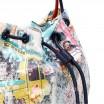 COZY STREET IN MILAN SEQUIN BUCKET BAG