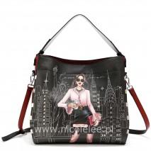 CAREER WOMAN SHOULDER BAG