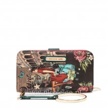 MEMORY OF ROME WALLET WITH RFID BLOCKING