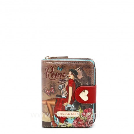 MEMORY OF ROME SMALL WALLET