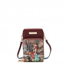 MEMORY OF ROME TOUCH SCREEN PHONE CROSSBODY