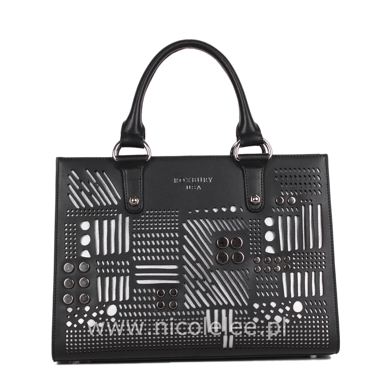 6b18cc516e234 Torebka - ROXBURY ABELLA TOTE LEATHER BAG - stylowe torebki Nicole Lee