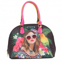 VACATION GIRL IN PARADISE DOME BAG