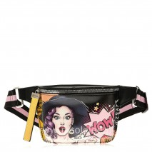 LUCY FASHION FANNY PACKS WITH METALLIC