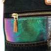 VIVIAN DREAMS PARIS DENIM CROSSBODY