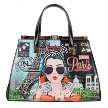 XOXO FROM PARIS FRAME SATCHEL BAG