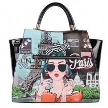 XOXO FROM PARIS SATCHEL BAG