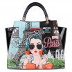 XOXO FROM PARIS SATCHEL BAG