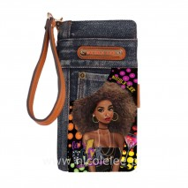 FRIDAY NIGHT FUN DENIM WALLET