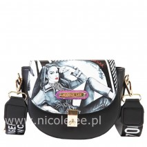 FASHION PRINT MULTI PURPOSE CROSSBODY BAG
