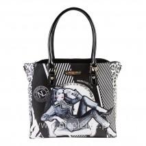 MAXINE DENIES COMFORT SHOPPER BAG