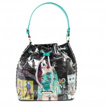 MISS PAPARAZZI URBAN CHIC BUCKET BAG