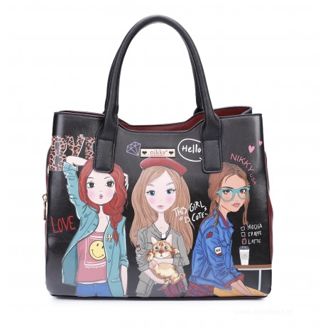 GIRLS WANT TO HAVE FUN HANDBAG