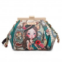 EMILY TRAVELS EUROPE FRAME CROSSBODY