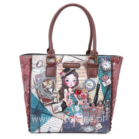 EMILY TRAVELS EUROPE TOTE BAG