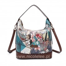 EMILY TRAVELS EUROPE HOBO HANDBAG