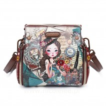 EMILY TRAVELS EUROPE CROSSBODY BACKPACK