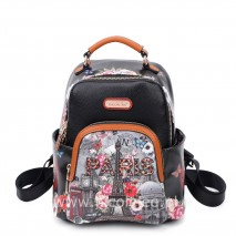 PARIS IN FALL SMALL BACKPACK