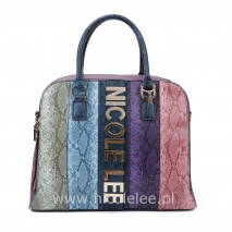 MULTICOLOR DOME BAG