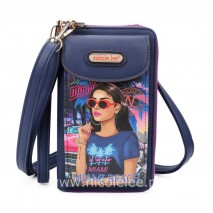 CRUISING IN MIAMI BEACH CROSSBODY WALLET