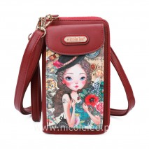EMILY TRAVELS EUROPE CROSSBODY WALLET