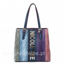 MULTICOLOR SATCHEL BAG
