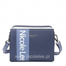 WHITE LOGO NAVY CROSSBODY