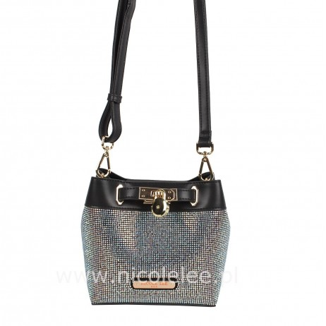 BLACK CRYSTAL CROSSBODY