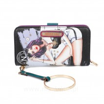 MY NAME IS KARLA WALLET WITH RFID BLOCKING
