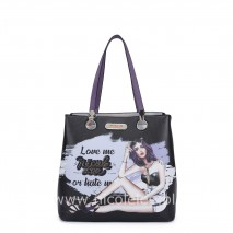 LOVE ME OR HATE ME TOTE BAG