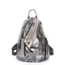 BRONZE METALLIC GLAMOUR BACKPACK