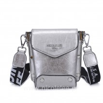 SILVER DAY TO NIGHT CROSSBODY BAG