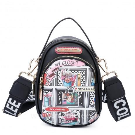 MY CLOSET MULTIPURPOSE CROSSBODY BAG