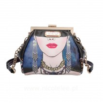 MY NAME IS KARLA FRAME CROSSBODY BAG