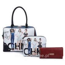 CHIC GIRLS 3 PCS SET OF HANDBAGS