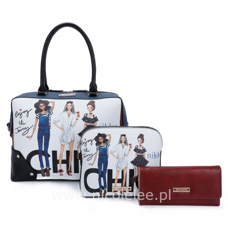 CHIC GIRLS 3 PCS SET OF HANDBAGS