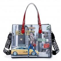 NEW YORK WALK TOTE BAG