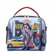 NEW YORK WALK MINI DOME BAG
