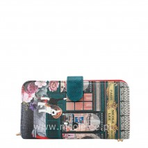 WALLET RUE DE PARIS WITH RFID BLOCKING