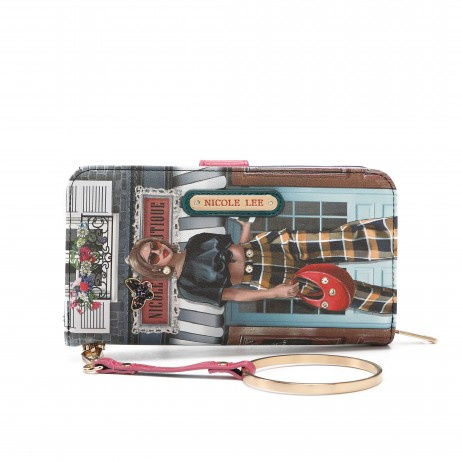 SUNDAY MORNING BOUTIQUE WALLET WITH RFID BLOCKING