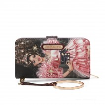CRYSTAL PALACE WALLET WITH RFID BLOCKING