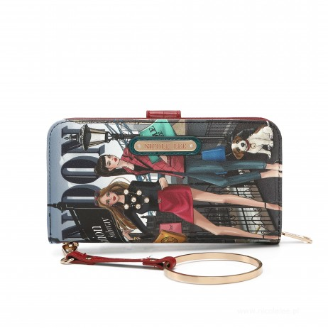 WOW IT'S LONDON WALLET WITH RFID BLOCKING