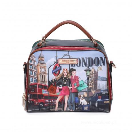 WOW IT'S LONDON MESSENGER BAG